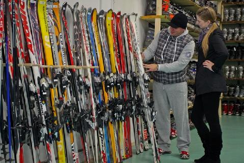 Predajňa - lyže c94a646b142